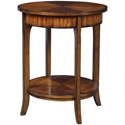 Uttermost Carmel End Table in Old Barn