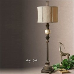 Uttermost Tusciano Floor Lamp in Hand Rubbed Dark Bronze