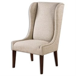 Uttermost Kriston Wingback Armless Chair