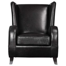 Lane Black Accent Chair