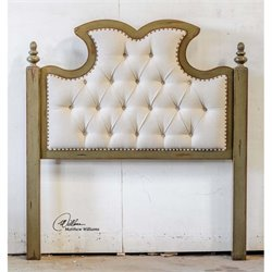 Uttermost Radcliff Tufted Queen Headboard