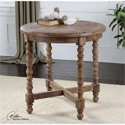 Uttermost Samuelle Wooden End Table