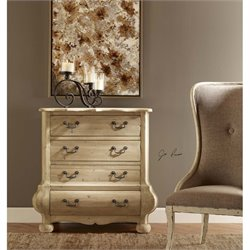 Uttermost Anson Pine Foyer Chest