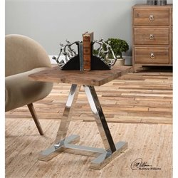 Uttermost Hesperos Wooden Side Table