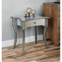 Uttermost Jovannie Mirrored Accent Table