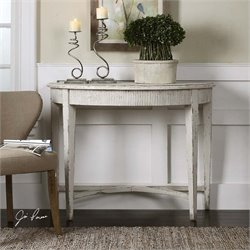 Uttermost Parisio Demilune Console Table