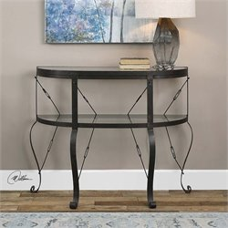 Ivyn Rust Bronze Console Table