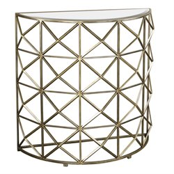 Uttermost Yulia Console Table in Gold