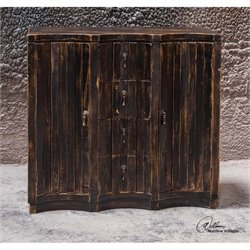 Uttermost Edeline Black Buffet Chest