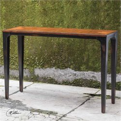 Uttermost Helice Wood Console Table
