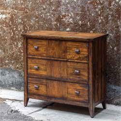 Uttermost Cadie Wood Three Drawer Chest
