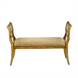 Safavieh Brody Bench in Beige