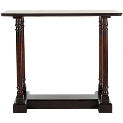 Safavieh Andy Wood Console Table in Dark Cherry