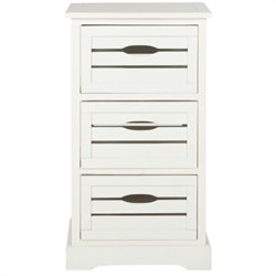 Safavieh Samara Cabinet in Cream