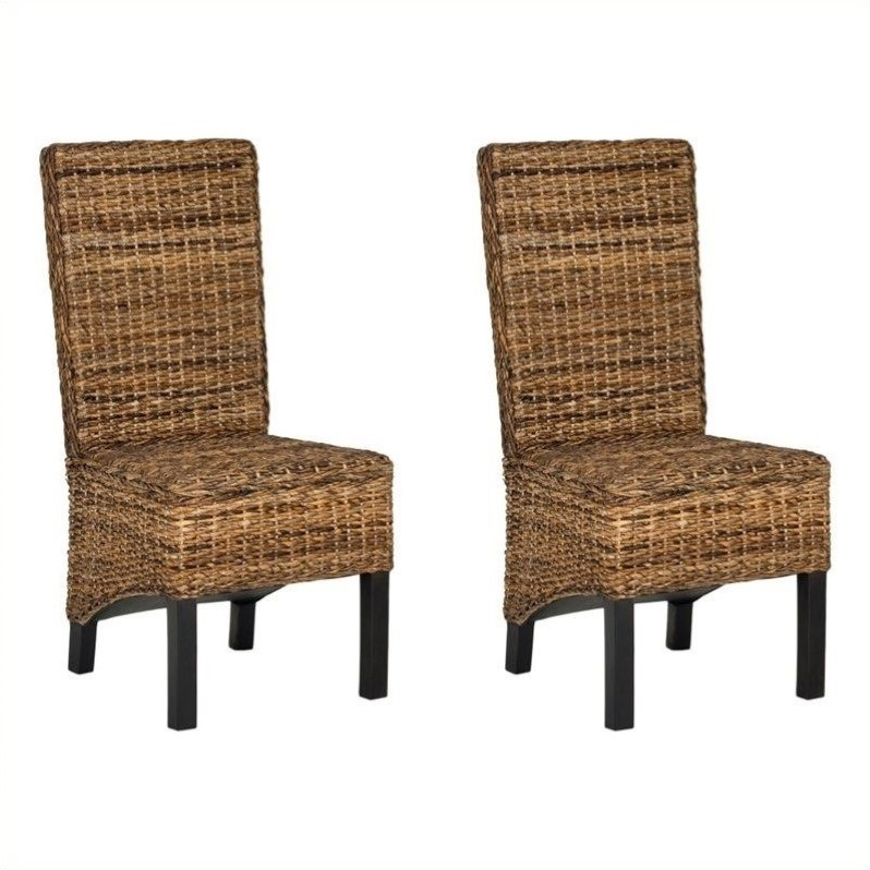 Safavieh Pembrooke Mango   Dining Chair in Natural (Set Of 2)