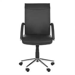 Safavieh Dejana Desk Office Chair in Black