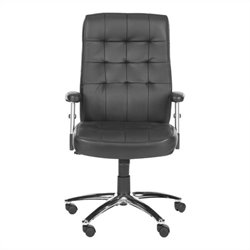 Safavieh Olga Desk Office Chair in Black