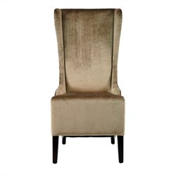Safavieh Liam Birch  Bacall  Dining Chair in Velvet