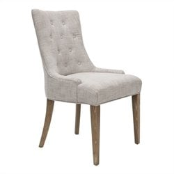 Safavieh Alexia Birch  Dining Chair in Gray