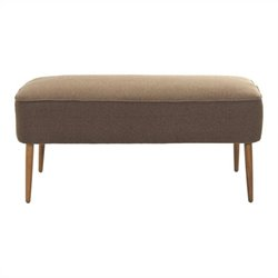 Safavieh Lucy Birch Wood Bench in Brown