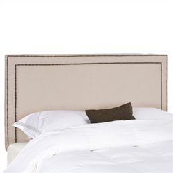 Safavieh Cory Queen Panel Headboard in Taupe