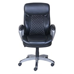 Serta at Home Accucell Manager Chair in Black