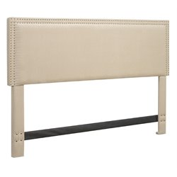 Serta Nova Panel Headboard In Ivory