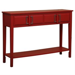 MER-1242 Console Table with Buckle Hardware