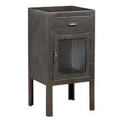 PRI Metal Accent Chest in Gray
