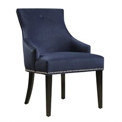 PRI Accent Chair in Navy Blue