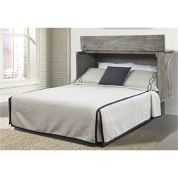 Arason Creden-ZzZ Queen Cabinet Bed with Mattress