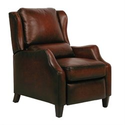 Barcalounger Berkeley II Recliner in Stetson Bordeaux