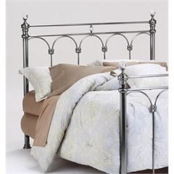 Athena Poster Headboard in Nickel