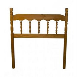 Bernards Full Spindle Headboard in Honey Pine
