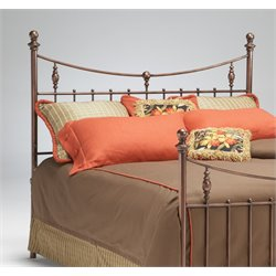 Penny Poster Headboard in Antique Copper