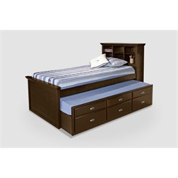 Bernards Captains Bed in Cherry