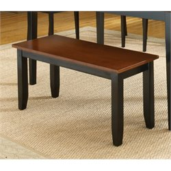 Bernards Jaguar Kitchen Bench in Merlot
