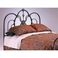 Bernards Madrid Spindle Headboard in Bronze