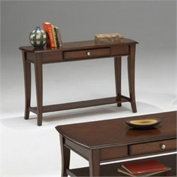 Bernards Broadway Sofa Table in Cherry