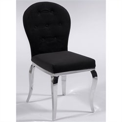 Chintaly Teresa Oval Back  Dining Chair