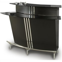Chintaly Broadway Home Bar in Black