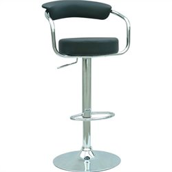 Chintaly Pneumatic Adjustable Height Swivel Stool
