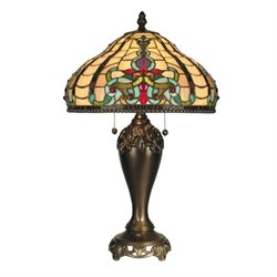 Dale Tiffany Topaz Baroque Table Lamp