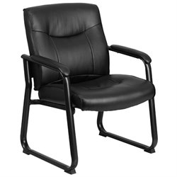 Flash Furniture Hercules Executive Side Chair in Black