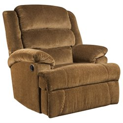 Big and Tall Recliner in Amber