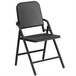 Band Music Folding Chair in Black