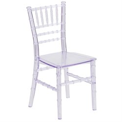 Kids Transparent Chiavari Chair