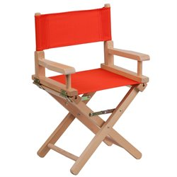 Kids Directors Chair in Red