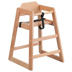 Baby High Dining Chair in Natural
