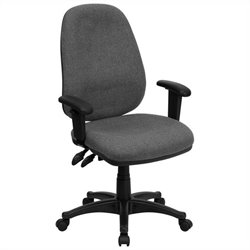 High Back Office Chair in Gray